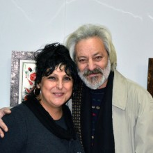 With the artist Atanas Parushev